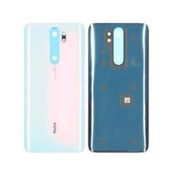 BACK COVER NOTE 8 PRO WHITE